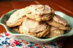 Vanilla maple cookies-to use up all of that maple syrup!