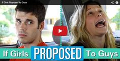 Hilarious Video: http://bit.ly/if-girls-proposed-to-guys