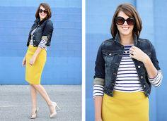 Jeans+amarelo