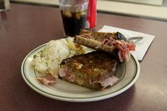 Ham and Cheese Sandwich from Wasp's Diner in Woodstock, VT More