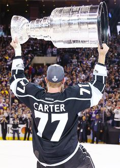 Jeff Carter • Los Angeles Kings • 2014 Stanley Cup Champions
