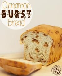 Genevieve's Cinnamon Burst Bread is so moist and delicious! Your family will love this bread.