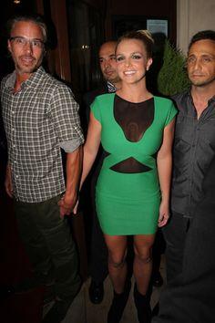 Britney Spears and Jason Trawick celebrate U.K. tour launch