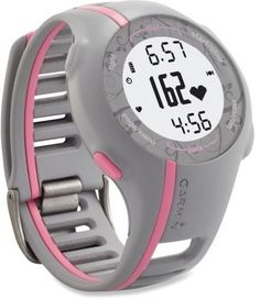 Gray/Pink Garmin Forerunner 110 GPS Heart Rate Monitor. $209.95 by isabelle
