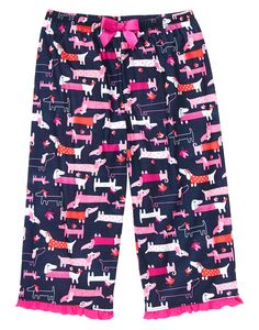 Daschund Sleep Capris at Gymboree