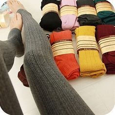 106OW+Comfortable+Lady+Cotton+Tights+Pants+Stirrup+Leggings+Winter+Hot+Selling+on+Wanelo