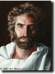 """A painting of Jesus by an 8 year-old girl with a near death experience; 4-year old boy who experiences a similar near-death experience confirmed this picture was the Jesus he saw in heaven. Read """"Heaven Is For Real,"""" the book was one I will never forget."""