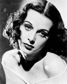 Hedy Lamarr. One of the most AMAZING women! Inventor and bombshell.