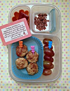 Lunch Made Easy: @MOMables Monday {Allergy Friendly} @Savorfull Cinnamon Roll Bites   DF GF EF PNF