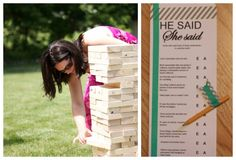 Couples Shower Ideas: Waffle Bar #games #wedding #peartreegreetings