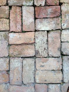 Idea: Old Chicago Brick. great for a wall or a patio.