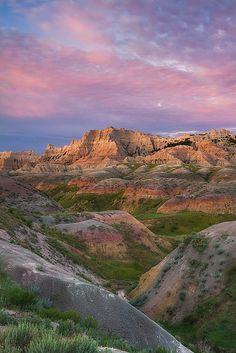Sunrise, Badlands National Park, South Dakota