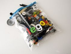Clear Lego Storage Pouch Tutorial.. - The Polkadot Chair