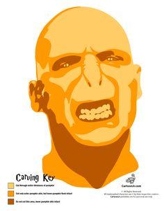 Harry Potter Pumpkin Patterns Lord Voldemort Pumpkin Carving – Cartoon Jr.