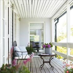 covered country porch