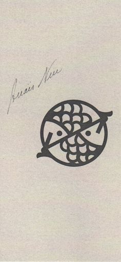 A pisces tattoo. I can't help but think about getting this for my twin sisters who were born as pisces. And there's always two fishies, and there will always be two twins.