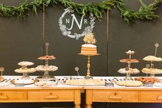 Lots of yum going on here! Also, love the backdrop!  Photography by valophotography.com