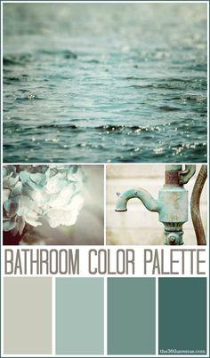 Bathroom Decor Ideas and Design Tips...or an entryway! Or living room!! #home