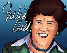 Hang Out with Julia Child in this Interactive Comic Book App