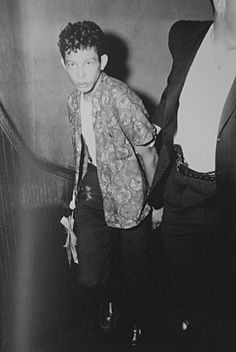 "August 29,1959 - The case of Salvador Agron 16, became a sensation. Asked why he commited the murders, he said:""Because I felt like it."" He was charged with 2 counts of 1st degree murder and one count of attempted 1st degree murder. He was sentenced to death and was the youngest prisoner at Sing Sing on death row. His sentence was commuted to life and was released in 1979. He died at the age of 43 of natural causes."