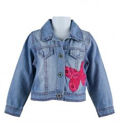 NAARTJIE...now Ava can have a jean jacket like me, with a butterfly of course!