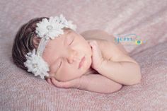 Enchanted Shimmer Designs Flower Child headband