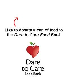 We are donating a can to a food to the Dare to Care Food Bank in Louisville, KY for each Like on this pin!  Like EatAtTGIFridays on Facebook and we'll donate another! https://www.facebook.com/EatAtTGIFridays