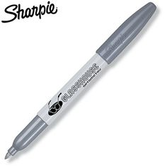Promotional Sharpie Metallic Silver Permanent Marker | Customized Permanent Markers | Promotional Sharpie Pens