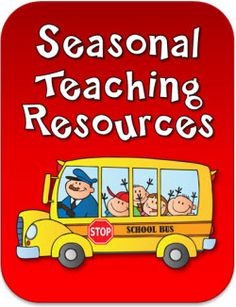 Seasonal Teaching Resources from Laura Candler's online file cabinet - newly updated with back to school freebies, lessons, and activities to start the year off with a bang!