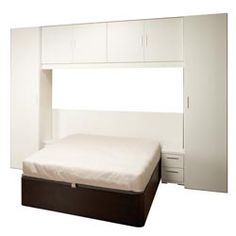 Armario puente on pinterest wall beds ikea and beds for Muebles puente matrimonio