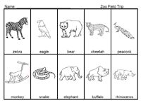 Safari theme activities      Could also go with Animal Habitats theme zoo theme, field trips