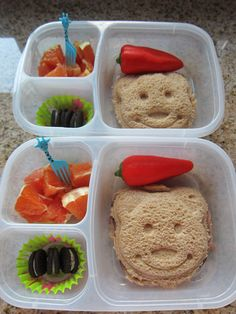 First week of school lunch box round-up! | packed in #EasyLunchboxes containers