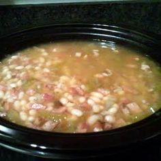 Congressional Bean Soup (Crockpot) recipe snapshot