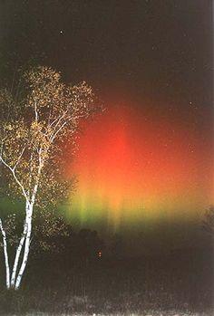 Fall Aurora Borealis