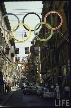Roma - Via Frattina - Olimpiadi 1960