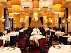 Gordon Ramsay  restaurant - lighting design