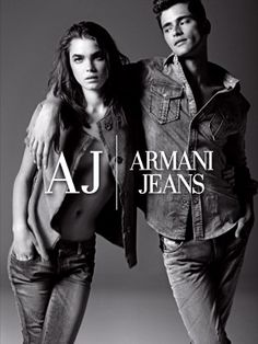 Various shades of Giorgio Armani (the designer, not the label) - ARMANI JEANS