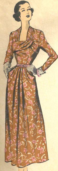UNCUT Advance Pattern 5223 Dress Vintage