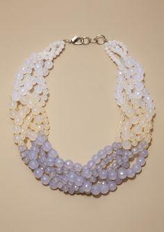 divine colors. $45 #ideeli #necklace