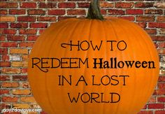 How to Redeem Halloween in a Lost World