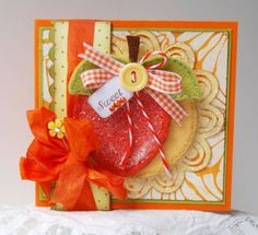 Sweet Peach and Tutorial - Scrapbook.com