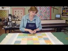 Make a Baby Quilt - Part 3 - Preparing and Quilting Your Baby Quilt