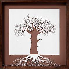 "Peter Callesen, ""The Roots of Heaven"" Papercuts"