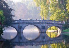 Clare College Bridge / Cambridge, England