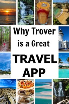 9 Reasons Why I love this travel app by Trover as a great planning tool.