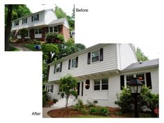Painted Brick Homes Before And After | Phoenix Painting Contractor Gives Advice on Painting Brick or Stone ...