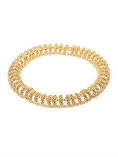 Shop now: Balenciaga bubble chain necklace