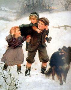 Arthur John Elsley ~ This Way, 1900
