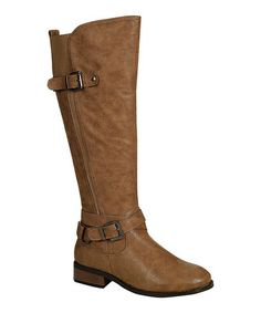 Honey Double-Buckle Boot by Reneeze #zulily #ad *want