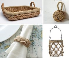 Nautical Rope Accents | House & Home